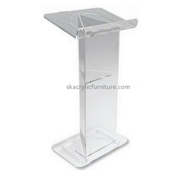 Custom design acrylic standing lectern pulpit for church AP-268