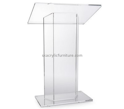 Custom acrylic church podium lecturn pulpit stand for sale AP-280