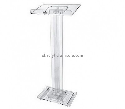 Customized acrylic church lectern pulpit designs AP-287