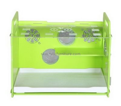 Custom acrylic bird reptile hamster house cages AB-012