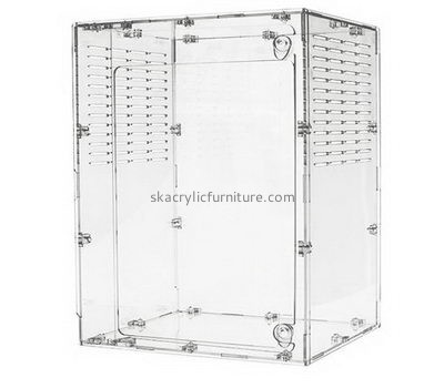 Custom acrylic plexiglass bird cages hamster reptile tanks AB-013