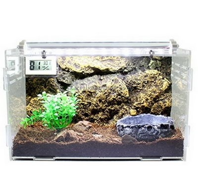 Custom acrylic reptile terrariums parrot guinea pig cage for sale AB-022