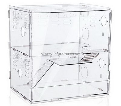 Furniture manufacturers custom acrylic bearded dragon terrarium large bird cage AB-027