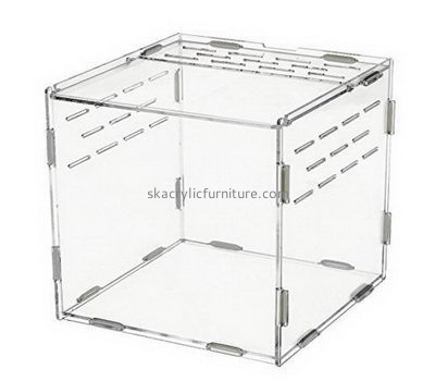 Acrylic furniture factory custom acrylic large reptile cages snake cages for sale AB-029