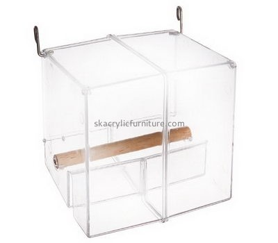 Acrylic furniture manufacturers custom acrylic bird cage parrot cages for sale AB-032