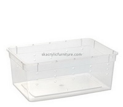 Acrylic furniture manufacturers custom acrylic terrarium reptile lizard tanks for sale AB-033