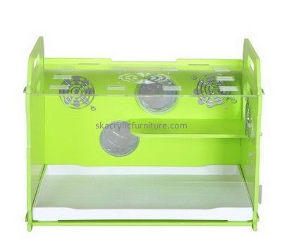Acrylic furniture factory custom acrylic plexiglass bird cages bearded dragon cages for sale AB-034