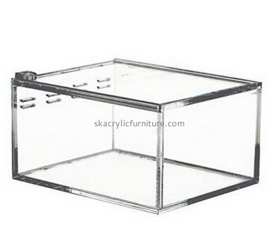 Acrylic furniture suppliers custom acrylic lizard cages lizard tank AB-035