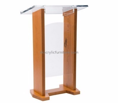 Furniture suppliers custom acrylic tabletop podiums lecterns for sale AP-299