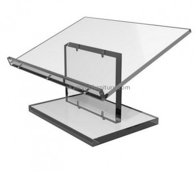 Lectern manufacturers custom acrylic cheap lucite laptop lectern furniture AP-306