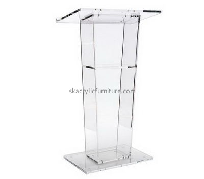 Quality furniture company custom acrylic perspex lectern furniture AP-316