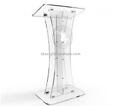 Best furniture manufacturers custom acrylic church podiums modern furniture AP-327