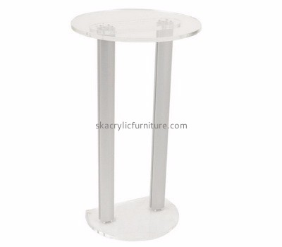 Furniture factory custom clear acrylic cheap podiums furniture for sale AP-337