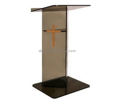 Lectern manufacturers customize furniture design acrylic lectern AP-344