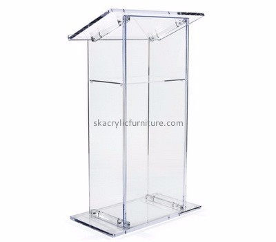 Acrylic furniture manufacturers customize acrylic furniture wholesale floor lectern AP-350