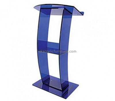 Acrylic furniture manufacturers customize clear pulpit lectern furniture AP-365