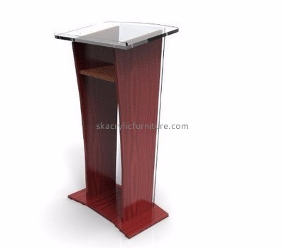 Acrylic furniture manufacturers customize acrylic church lecterns and podiums furniture for sale AP-371