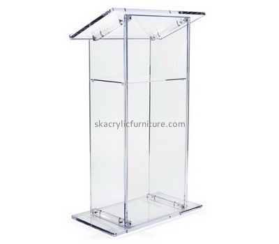 Acrylic furniture manufacturers custom design contemporary pulpit furniture for sale AP-396