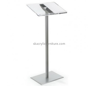 Perspex furniture suppliers customize acrylic furniture wholesale acrylic pulpit podiums AP-485
