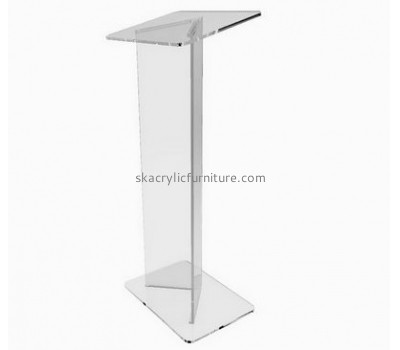 Lectern manufacturers customize clear acrylic furniture lecterns and podiums for sale AP-508