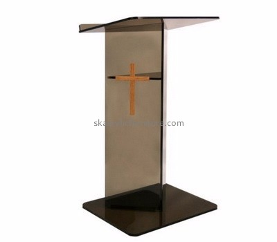 Quality furniture manufacturers customized cheap acrylic church pulpit furniture AP-534