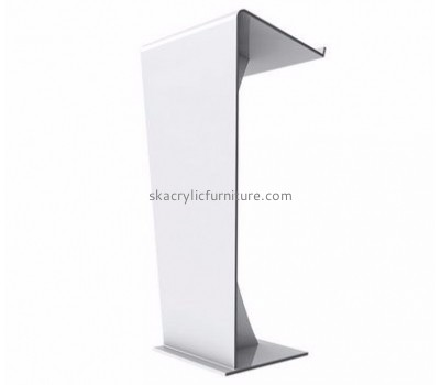 Quality furniture company customized white acrylic pulpit modern furniture AP-553