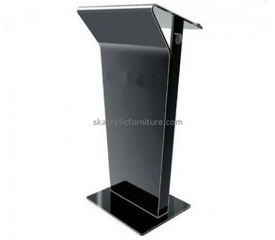 Perspex furniture suppliers customized black design lectern furniture AP-559