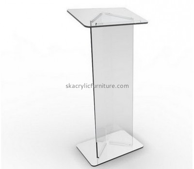 Lectern manufacturers customized cheap lucite furniture contemporary pulpits for sale AP-568