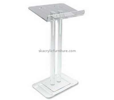 Quality furniture company customized modern acrylic church podiums furniture for sale AP-595