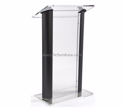 Lectern manufacturers customized acrylic office contemporary church pulpits furniture AP-623