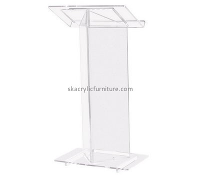 Acrylic furniture manufacturers customized lifestyle church pulpits furniture AP-633