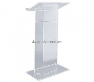 Acrylic furniture manufacturers customized clear acrylic school podium furniture AP-644