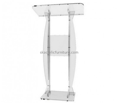 Fine furniture company customized acrylic church podiums pulpit AP-701