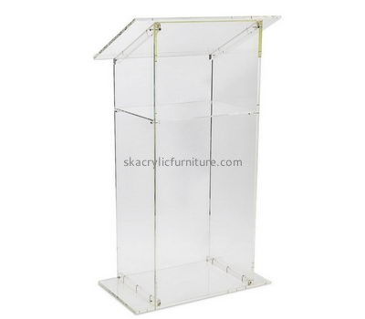 Wholesale furniture manufacturers customized plexiglass acrylic podiums AP-707