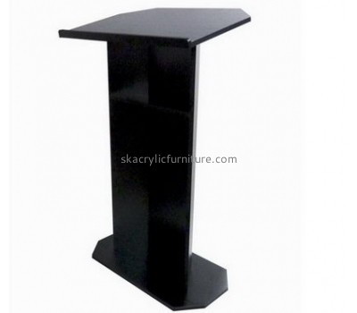 Perspex furniture suppliers customized plastic church lecterns and podiums furniture AP-755