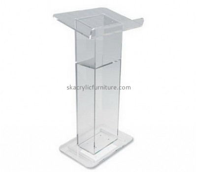 Quality furniture company customized acrylic speech podium modern furniture for sale AP-773