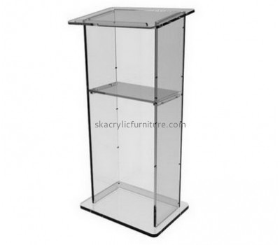 Lectern manufacturers customized clear acrylic podium for sale AP-778