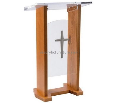 Wholesale furniture manufacturers customized church acrylic pulpit podium AP-786