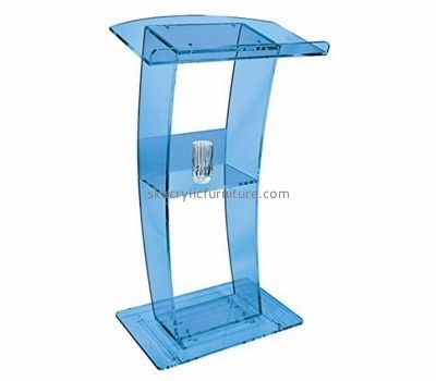 Acrylic furniture manufacturers customized luxurious modern podium furniture AP-797