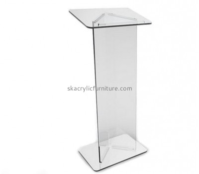 Quality furniture company customized clear speech podium pulpit AP-830