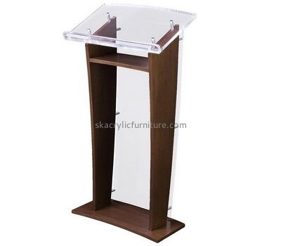 Podium manufacturers custom acrylic plexiglass fabrication podium AP-850