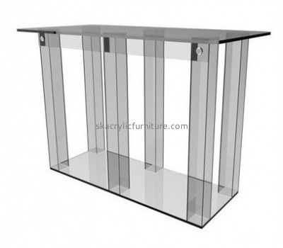 Acrylic display supplier custom acrylic fabrication pulpit and lectern AP-864