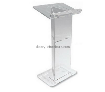 Furniture suppliers custom plastic acrylic supply and fabrication pulpit AP-890
