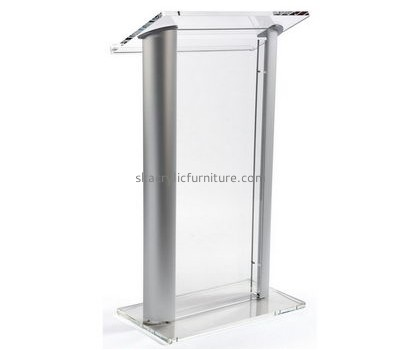 Acrylic manufacturers custom designs acrylic cheap podiums for sale AP-1034
