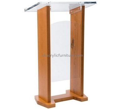 Furniture manufacturers custom plexiglass fabrication lectern pulpit AP-1048