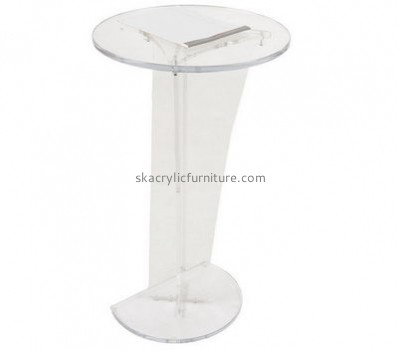 Furniture factory custom designs acrylic plastic pulpit and lectern AP-1095