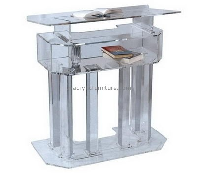 Acrylic items manufacturers custom acrylic plastic perspex fabrication lectern AP-1130