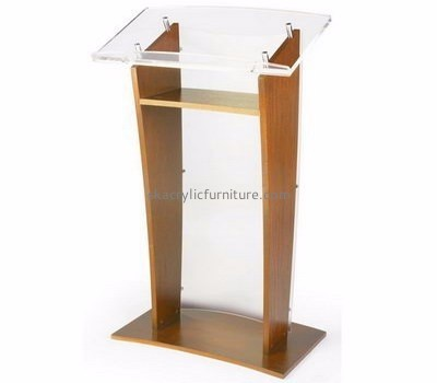 Acrylic items manufacturers custom perspex lecterns fine furniture AP-1173