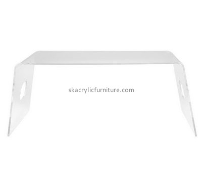 Customized clear acrylic coffee table AT-209
