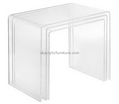 Bespoke acrylic clear coffe table AT-241